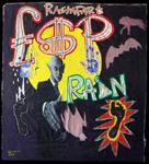 Rain on Vampire<br>Marker pen, oil & acrylic on canvas, 116 x 116 cm